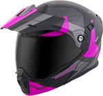 Scorpion EXO-AT950 NEOCON Modular Motorcycle Helmet (Pink)
