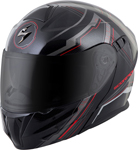 Scorpion EXO-GT920 SATELLITE Modular Motorcycle Helmet (Red)