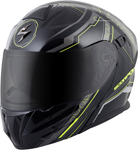 Scorpion EXO-GT920 SATELLITE Modular Motorcycle Helmet (Neon Yellow)