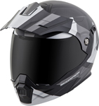 Scorpion EXO-AT950 COLD WEATHER Motorcycle Helmet w/Dual Pane Shield (Silver)