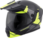 Scorpion EXO-AT950 COLD WEATHER Motorcycle Helmet w/Dual Pane Shield (Hi-Viz Yellow)