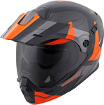 Scorpion EXO-AT950 COLD WEATHER Motorcycle Helmet w/Dual Pane Shield (Orange)