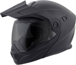 Scorpion EXO-AT950 COLD WEATHER Motorcycle Helmet w/Dual Pane Shield (Matte Black)