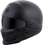 Scorpion COVERT Open-Face Motorcycle Helmet (Matte Black)