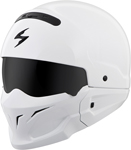 Scorpion COVERT Open-Face Motorcycle Helmet (Gloss White)