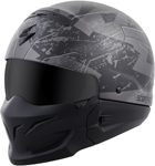 Scorpion COVERT RATNIK Open-Face Motorcycle Helmet (Phantom Black)