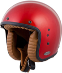 Scorpion BELFAST Open-Face Motorcycle Helmet (Candy Red)