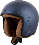 Scorpion BELFAST Open-Face Motorcycle Helmet (Matte Metallic Blue)