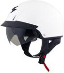 Scorpion EXO-C110 Cruiser Motorcycle Half Helmet (White)