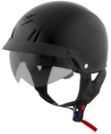 Scorpion EXO-C110 Cruiser Motorcycle Half Helmet (Gloss Black)