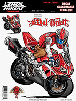 Sticker Decal ENDO GUY RED