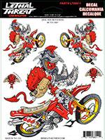 Sticker Decal DEVIL RIDE MOTOCROSS