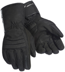 TOURMASTER Mid-Tex Textile Motorcycle Gloves (Black)