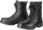 TOURMASTER Coaster Waterproof Leather Motorcycle Boots (Black)
