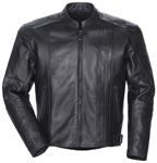 TOURMASTER Coaster 3 Leather Motorcycle Jacket (Black)