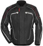 TOURMASTER Advanced Textile Motorcycle Jacket (Black/Black)