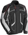TOURMASTER Advanced Textile Motorcycle Jacket (Black/Gray)