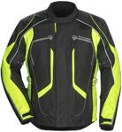 TOURMASTER Advanced Textile Motorcycle Jacket (Black/Hi-Viz)