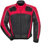 TOURMASTER Draft Air 3 Mesh Motorcycle Jacket (Red)