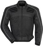 TOURMASTER Draft Air 3 Mesh Motorcycle Jacket (Black)