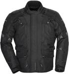 TOURMASTER Women's Transition 4 Textile Motorcycle Jacket (Black)