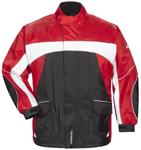 TOURMASTER Elite 3 Motorcycle Rain Jacket (Black/Red/White)
