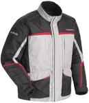 CORTECH Cascade 2.1 Snow Snowmobile Jacket (Silver/Red)