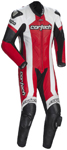 CORTECH Adrenaline 1-Piece Road/Track Motorcycle Suit (White/Red)