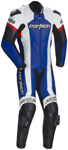 CORTECH Adrenaline 1-Piece Road/Track Motorcycle Suit (White/Blue)
