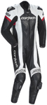 CORTECH Adrenaline 1-Piece Road/Track Motorcycle Suit (Black/White)