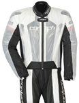 CORTECH Road Race Rain Jacket for Motorcycle Track Suit (Clear)
