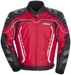 CORTECH GX Sport 3.0 Textile Motorcycle Jacket (Red/Black)