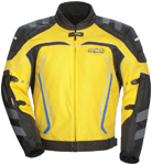 CORTECH GX Sport 3.0 Textile Motorcycle Jacket (Yellow/Black)