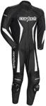 CORTECH Latigo 2.0 1-Piece Road/Track Leather Motorcycle Suit (Black)