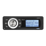 Aquatic AV Bluetooth/MP3/AM-FM Radio Waterproof Stereo for Harley-Davidson AQ-MP-5BT-H
