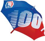 100% MX Motocross Premium Umbrella (Blue/Red)