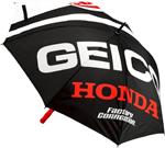 100% MX Motocross GEICO/Honda FLARE Umbrella (Black/Red/White)