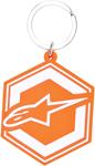 ALPINESTARS IGNITION Rubber Keychain (Orange)