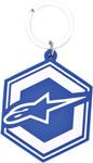 Alpinestars IGNITION Rubber Keychain (Blue)