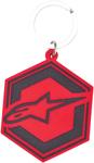 Alpinestars IGNITION Rubber Keychain (Red)