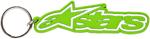 Alpinestars RUB Embossed Rubber Keychain (Green)