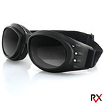 Bobster Cruiser 2 Interchangeable Goggles (Black Frame, 3 Lenses)