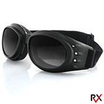 Bobster Cruiser 2 Interchangeable Goggles (Black Frame, 3 Lenses)