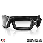 Bobster Fuel Biker Goggles (Anti-fog Photochromic Lens)