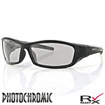 Bobster Hooligan Sunglass (Black Frame, Photochromic Lens)