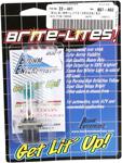 Brite-Lites 50W Xenon GE 800 Bulb | PGJ13 (H27W/2 881) | 2-Pack | Green