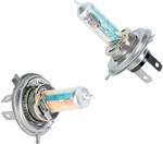 Brite-Lites 55/60W Coated Xenon Bulb | P43t (H4) | 2-Pack | Blue
