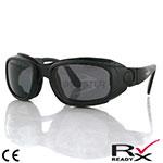 Bobster Sport & Street Convertible Sunglasses (Black Frame, 3 Lenses)