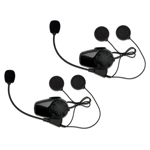 SENA SMH10 Motorcycle Bluetooth Headset & Intercom for Bell Mag-9 Helmets (Dual Pack)