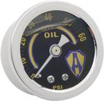 Arlen Ness - 15-655 - Liquid-Filled Oil Gauge